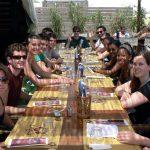 Ravenna - Studenti di italiano - Pranzo al mare
