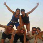 Ravenna - Studenti di Italiano in spiaggia