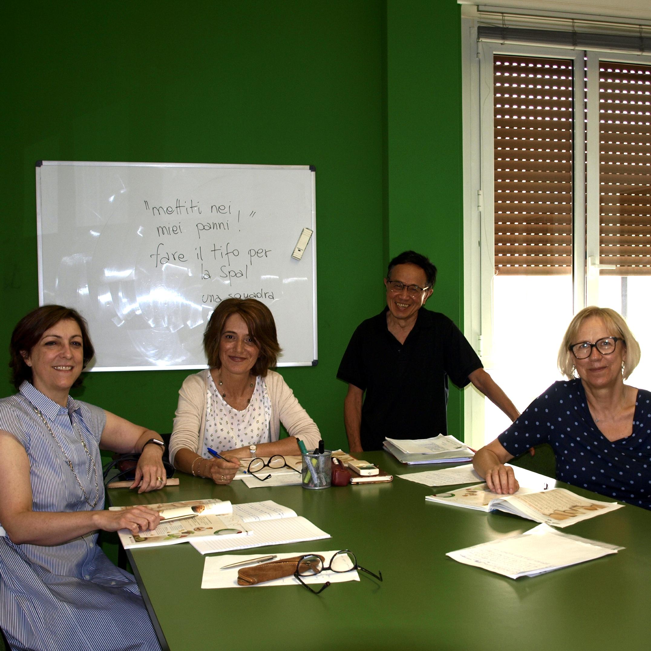 corso di italiano in Italia per studenti adulti